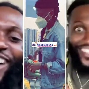 Adebayor Jams To Stonebwoy's Putuu Song, Spits All The Bars In The Song (Video)