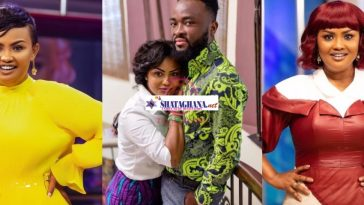 Nana Ama McBrown and Husband Make Fans Jealous As They Chop Serious Love In Throwback Video (Watch)