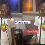 """Stonegal Nails Stonebwoy's Song """"Putuu"""" As She Sings Her Version Of It 