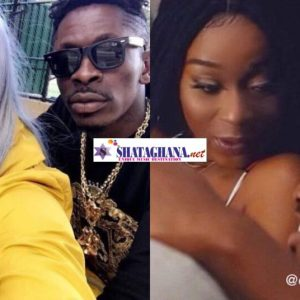 Efia Odo replies a fan who said she's now supporting Shatta Wale because Kwesi Arthur's fame has gone down