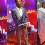 Kelvinboy learns his lesson as he wears larger outfit to VGMA red carpet