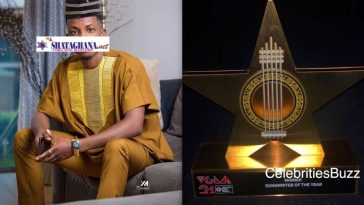 Kofi Kinaata wins VGMAs 'Songwriter Of The Year' award for the 3rd time