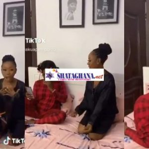 Mzbel shakes her rocky ass in hot tw₤rking competition against Akaupem Poloo
