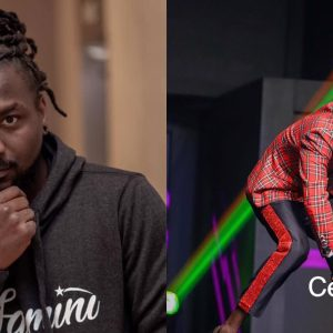 Samini congratulates Kuami Eugene for winning VGMAs Artiste Of The Year award
