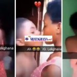 9-Year-Old Boy Receives A Hot Slap From A Young Lady After He Tried Locking Lips With Her (Watch)
