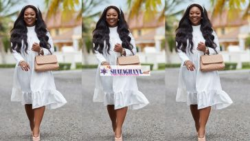 Jackie Appiah Reacts To Pregnancy Rumor Again; Shares Flat Tummy Photo To Dispel Rumor