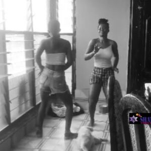 (Watch) Wiyaala Jumps Into twerking Compitition With her Sister ; which has caused Stir on social media
