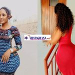 Checkout Photos of the Lady with the tiniest waist who's Photos are causing massive destruction on Instagram