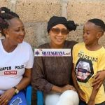 Akuapem Poloo Shares Photo Of Her Mum And Son Along With A Caption That Will Interest You
