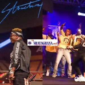 Two times Shatta Wale provoked Stonebwoy to misbehave on stage