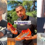 Photos of Kevin Prince Boateng's first son, Jermaine-Prince Boateng looking all grown