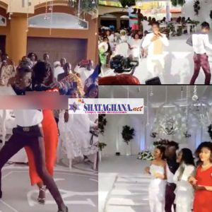 #Ciri2020: Lil Win, Nana Ama Mcbrown and others compete in a dance battle at the ceremony(VIDEO)