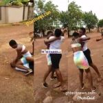 Two JHS Graduates Fights Over A Guy Because Of iPhone Portrait | watch Video