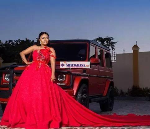 Check out pictures of Nana Ama Mc Brown with her expensive cars and she's looking good.