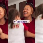 """Moments When Nadia Buari And Her Daughter Enjoy Some """"Mother And Daughter"""" Bond (Video)"""