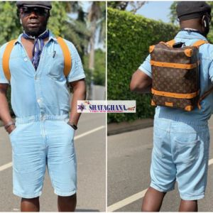 Osebo Does It Again, Storms Social Media With Old School Level- See Photos
