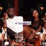 Photo of Sarkodie publicly smoking beside his wife Tracy SarkCess pops up