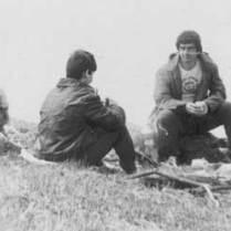 1990 год. В очередном походе в горы.