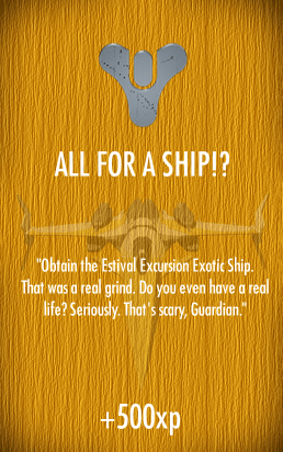 SOH-ALL FOR A SHIP
