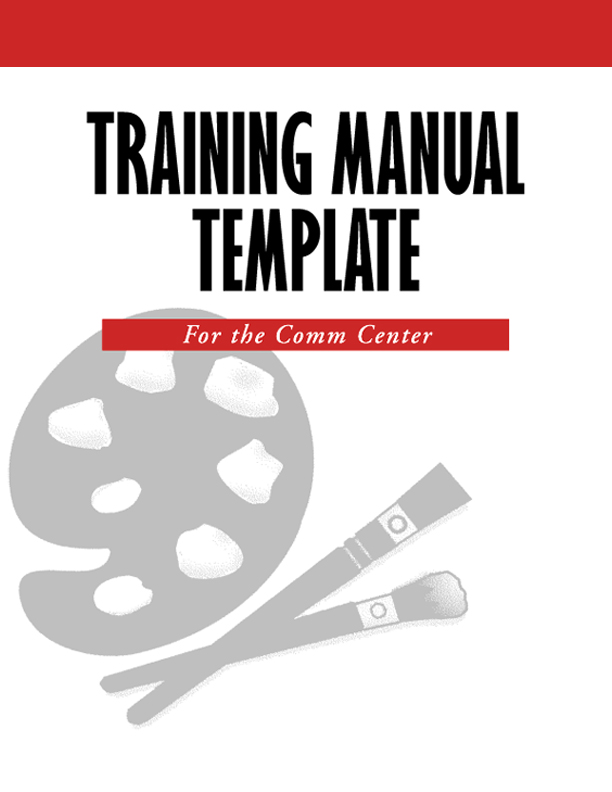 Training Manual Template Word  shatterlioninfo