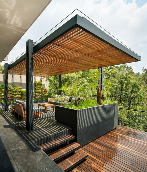great ideas for patio roof design