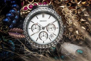 product photo dkny watch