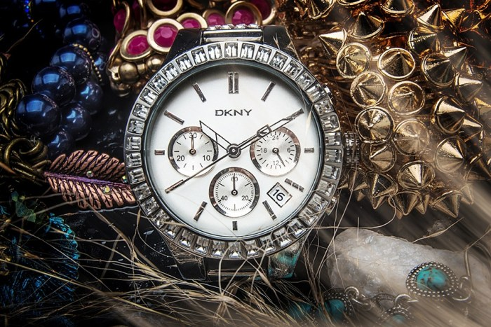product photo dkny watch