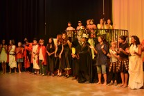 70 students were involved in some capacity in the show.