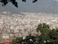 This is Kathmandu. A sprawling, dusty city that offers everything.