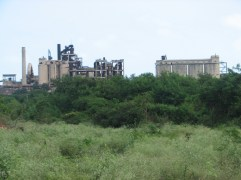 An abandoned concrete factory in KKS.