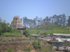 Beautiful landscapes and colourful Hindu temples grace this area.