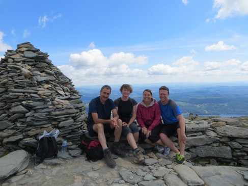 We loved hiking in the Lake District. Thanks Marj and Richard for a brillant time.