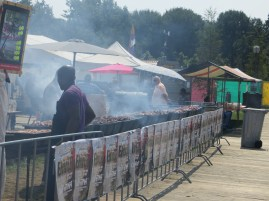 Suriname was granted independence from the Dutch in the 1970s only they didn't want it. As a result many Suriname people became Dutch citizens and have taken BBQ to a whole new level at an annual festival in Amsterdam.