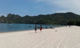 Langkawi has some great, big beaches.