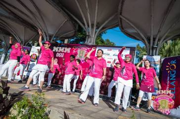 These breast cancer survivors were all ran the 5km event and were an inspiration to us all as they bust out their sweet dance moves!