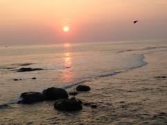 Sunset from the Galle Fort