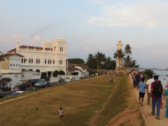Walking the Galle Fort was much like we remembered.
