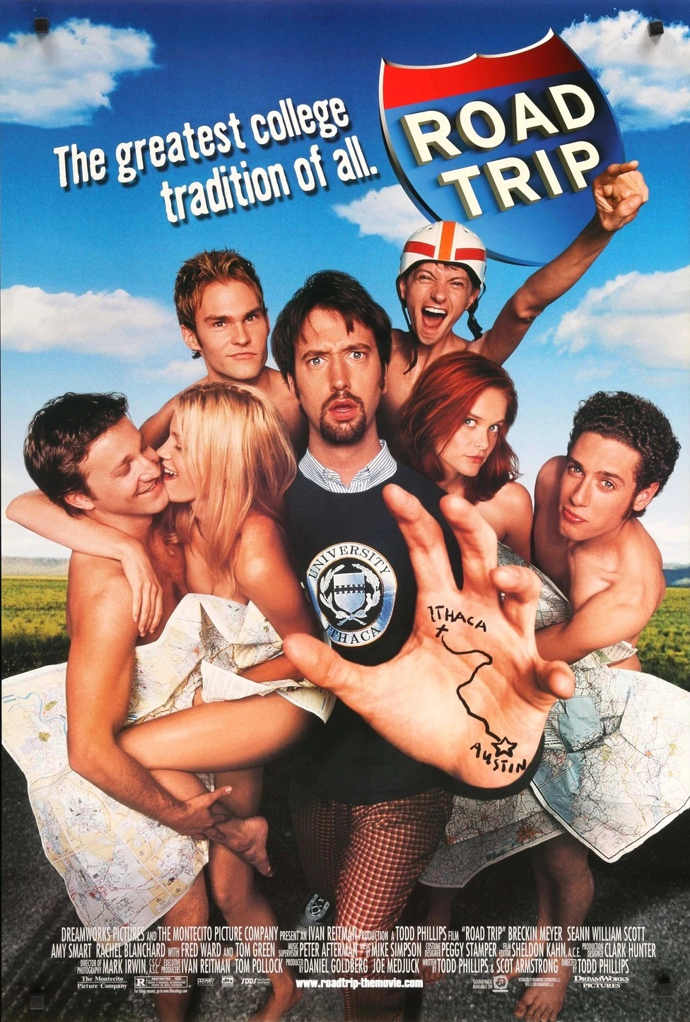 Fragile and Varied Masculinities:  Road Trip and the Odd World of the 2000s