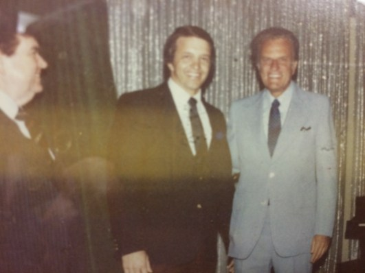 Phil with Rev. Billy Graham