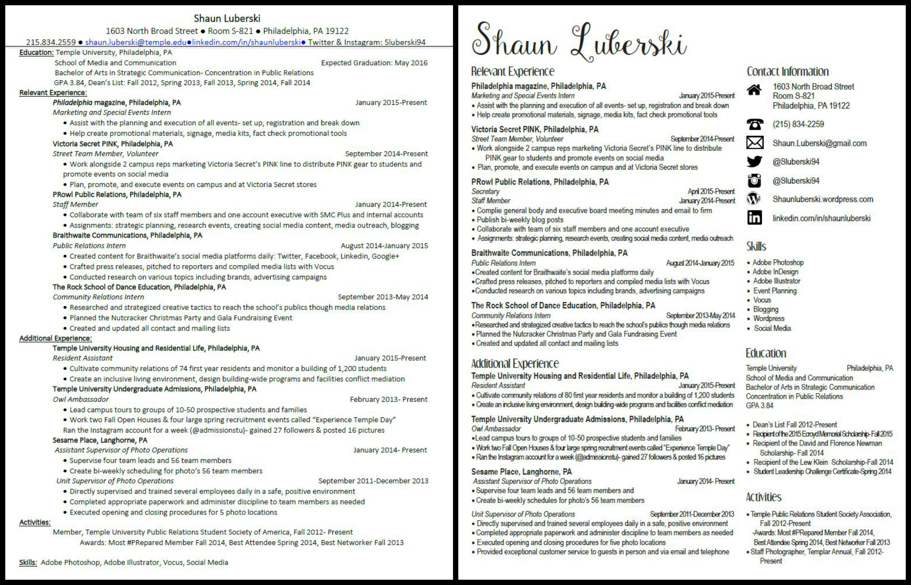 Resume Makeover!