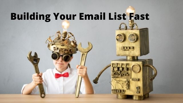Building Your Email List From Scratch
