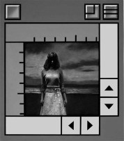 """Moray Coastal Girl"" Charcoal on card, Acrylic on Panel, Sold"