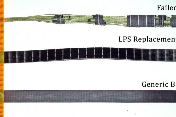 Failed Z3200 Belt