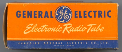 Canadian General Electric alternate Tube Box