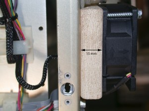 Duct Mounted on Radio 15mm Thickness
