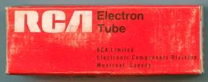 RCA Canada later Tube Box