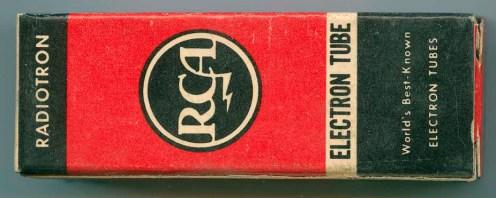 RCA Victor Canada Tube Box