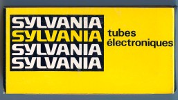 Sylvania Canada Tube Box