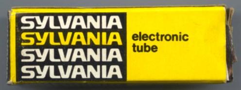 Sylvania later Tube Box