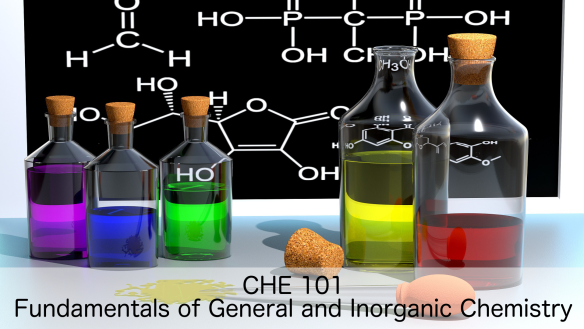A title image showing various chemistry objects.